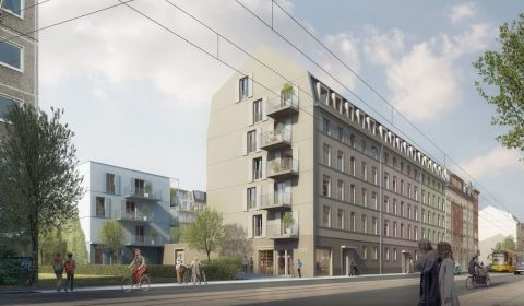Visualisierung LYRA-QUARTIER in Dresden. Quelle: AOC Immobilien AG.