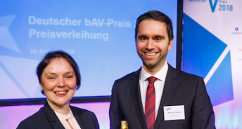 Jana Reck und Michael Diedrich - HR - Real I.S. AG. (Copyright @ Thomas Rosenthal)