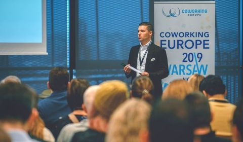AllOfficeCenters Coworking Europe Conference 2019 - Speech
