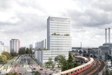 David Chipperfield Architects entwirft Stadtturm für das Projekt JAHO Berlin-Mitte