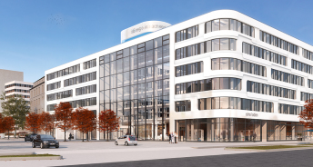 Visualisierung eins-Zentrale Copright FAY Projects GmbH
