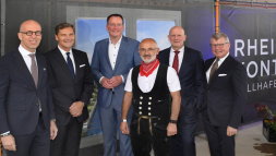 Richtfest Rheinkontor am 16. August 2019 Quelle LBBW Immobilien