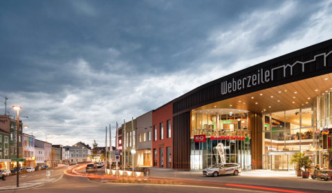 Shopping-Center Weberzeile - Foto: ATP