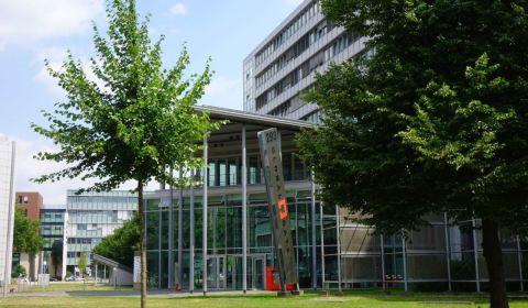 Büro-Komplex Global Gate in der Grafenberger Allee 293–297 in Düsseldorf; Bildnachweis: Apleona