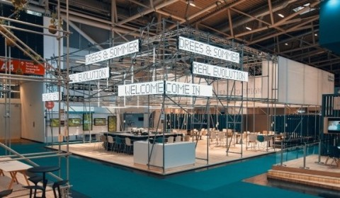 Drees & Sommer-Messestand für die Expo Real 2019  © Christian Back