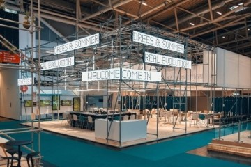 Expo Real 2019: Drees & Sommer-Messestand inspiriert von Cradle to Cradle®