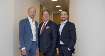 v.l.n.r.: Claudius Meyer, Torsten Hollstein, Alexander Lackner. Quelle: CR Investment Management