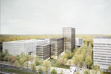 HANSAINVEST Real Assets plant Büroneubau in Hamburger City Nord
